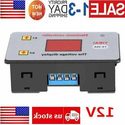 DC 12V Battery Low Voltage Cut off Switch Controller Excessi