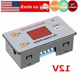 DC 12V Battery Low Voltage Cut Off Switch Controler Excessiv
