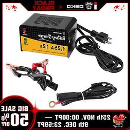 12 V 1.25 Amp Smart Battery Maintainer Charger for Motorcycl