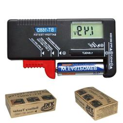 Digital Household Battery Checker for 9V 1.5V AA AAA Small B