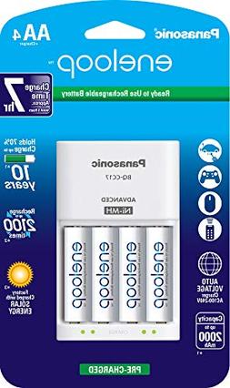 4PK ENELOOP AA BATTERY PLUS 4 POSITION CHARGER