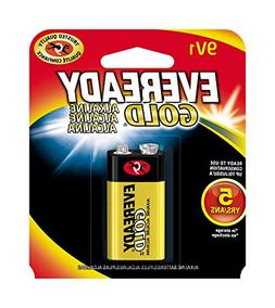 EVEREADY 9V Battery, 9 Volt Alkaline