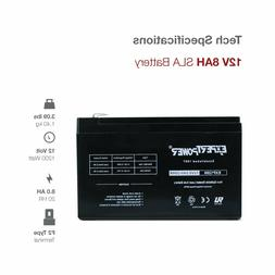 ExpertPower EXP1280 12V 8Ah Rechargeable Battery