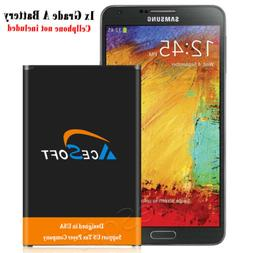 AceSoft Extended Slim Battery for Samsung GALAXY Note 3 N900