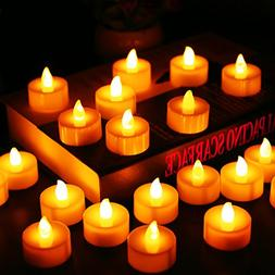 Flameless Candles, LED Tea Light Candles With Battery-Powere