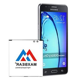 Galaxy On5 Battery, MAXBEAR 2800mAh Replacement Li-ion Batte