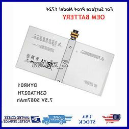 genuine battery dynr01 for microsoft surface pro