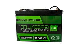 GreenLiFE Battery GL80 - 80AH 12V Lithium Ion Battery Group