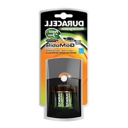 Duracell Go Mobile Charger/Rechargeable/includes car adaptor