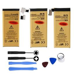 High-Capacity Gold Internal Replacement Battery for iPhone 4