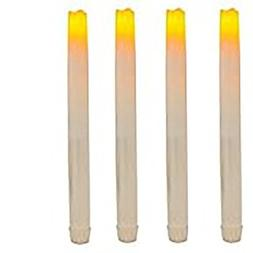 THEA HOME Batteries Operated LED Taper Candles,Flameless LED