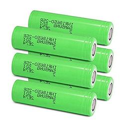 Samsung INR18650-25R Rechargeable Flat Top Batteries 2500mAh