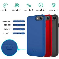 For iPhone 6s 7 8 Plus Battery Case Portable Charging Charge