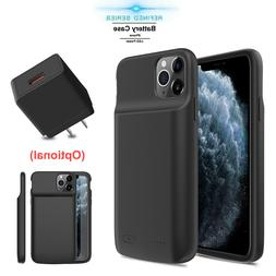 For iPhone X/XR/XS Max Qi Wireless Battery Case Charging Pow