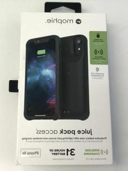 Mophie Juice Pack Access iPhone XR Battery Case Black Wirele