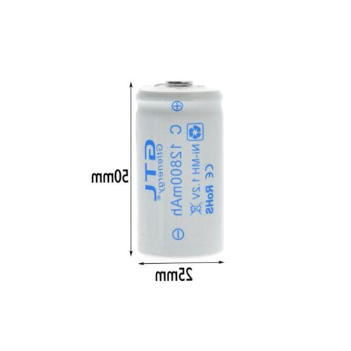 1.2V Size Rechargeable High Capacity 12800/13800 mAh