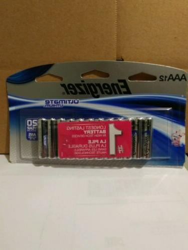 12 count aaa ultimate lithium batteries
