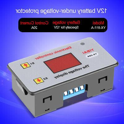 Battery Low Voltage Automatic Cut off Switch Controller Prot