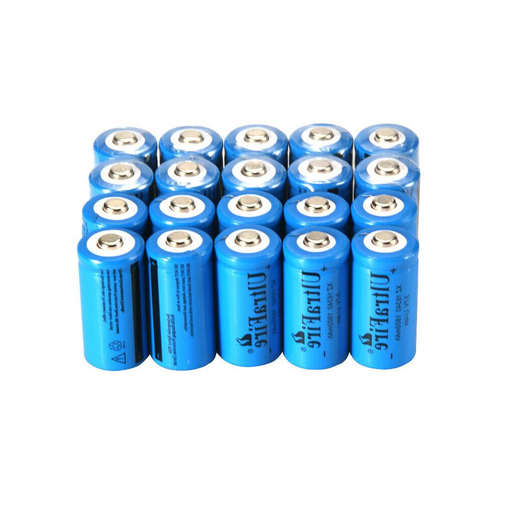 UltraFire 16340 Battery CR123A Bat Charger