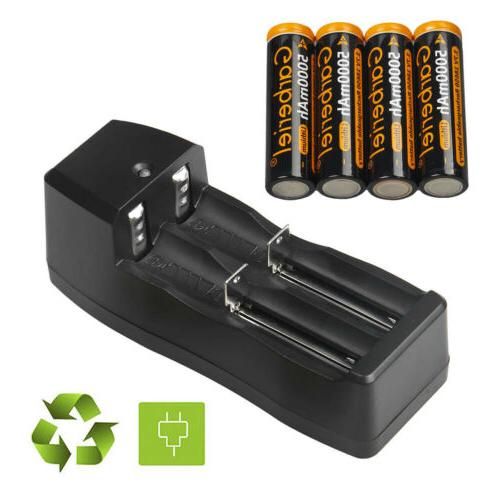 18650 Battery Rechargeable Batteries For Flashlight Torch