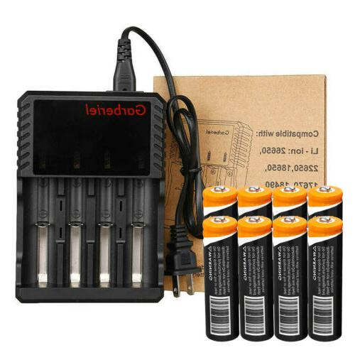 18650 Battery Li-ion Rechargeable For Flashlight Head