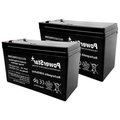 2 pack 12v 9ah battery apc back