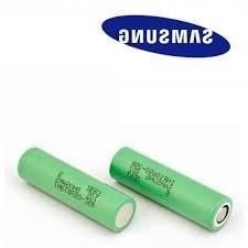 2 Samsung INR18650-25R 18650 2500mAh 3.7v Rechargeable Flat