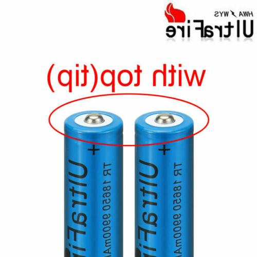 UltraFire Battery Li-ion Rechargeable Batteries Charger