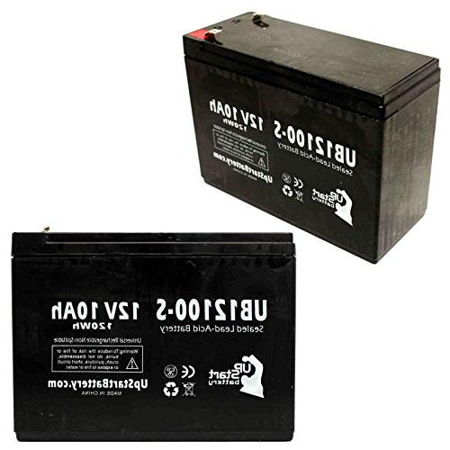 2x Pack - Enduring CB10-12 Battery - Replacement UB12100-S U