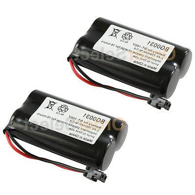 2x new home phone battery for uniden