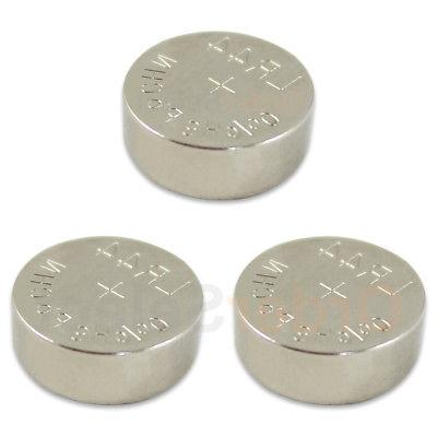 3 pack new battery coin cell button