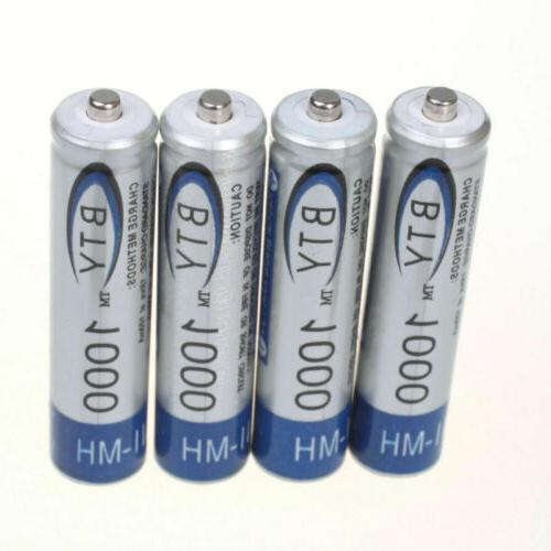 4-20pc BTY AA/AAA Rechargeable Battery 1.2V Ni-MH