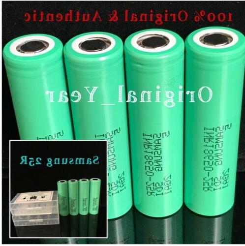 4 2500mAh Rechargeable Top