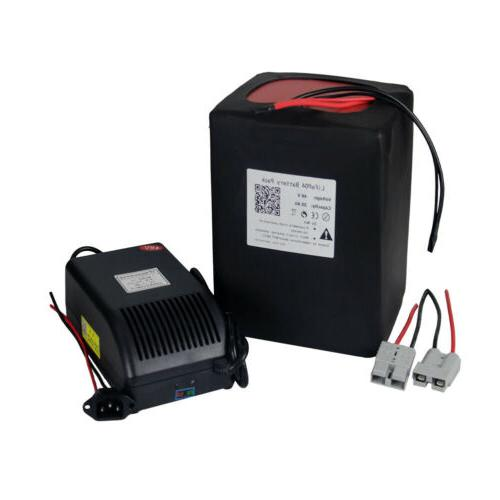 48v 20ah LiFePO4 Battery Pack Power for 1000Watt Ebike Golf