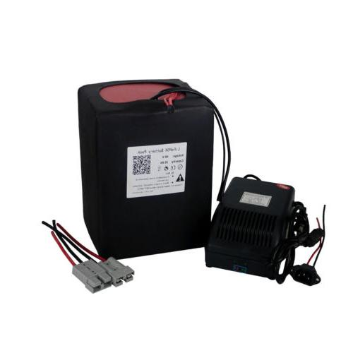 48v20ah lithium lifepo4 battery 5a charger 50a