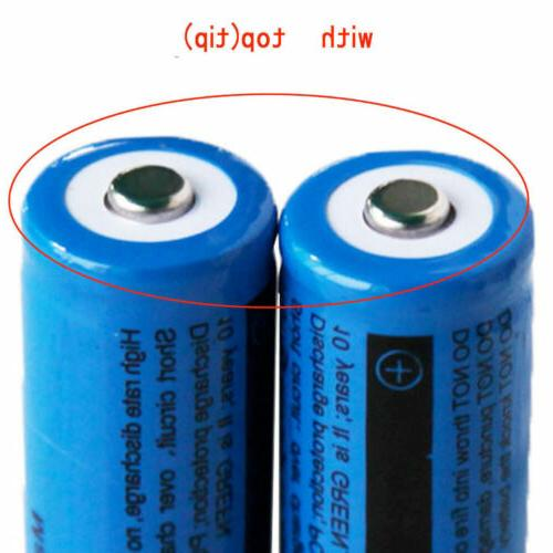 4X Ultrafire 18650 3.7V Rechargeable Batteries Charger