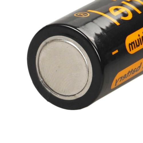 4x 18650 Li-ion Rechargeable Battery Torch Flashlight Charger