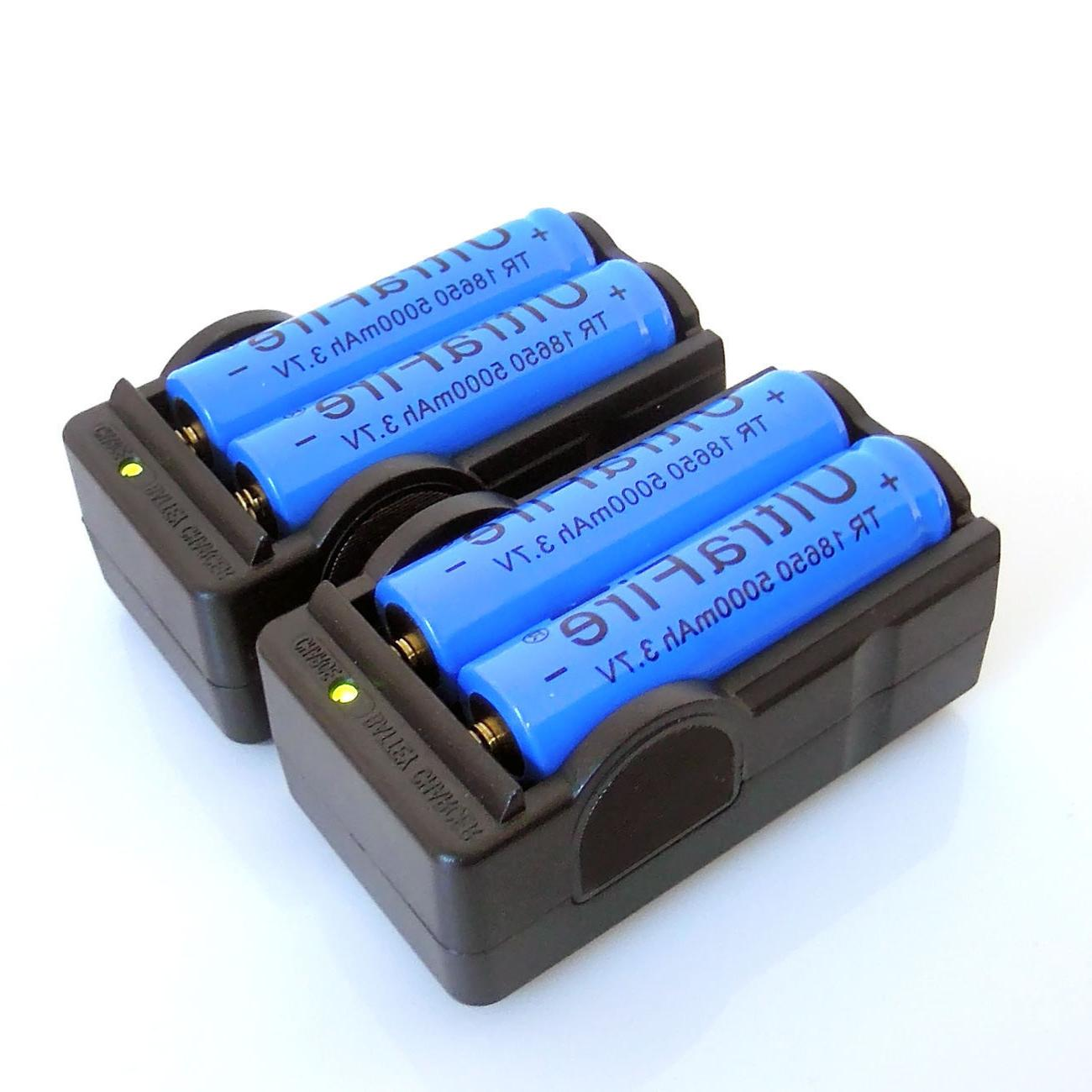5000mAh 3.7V Li-ion Cell Bat Charger
