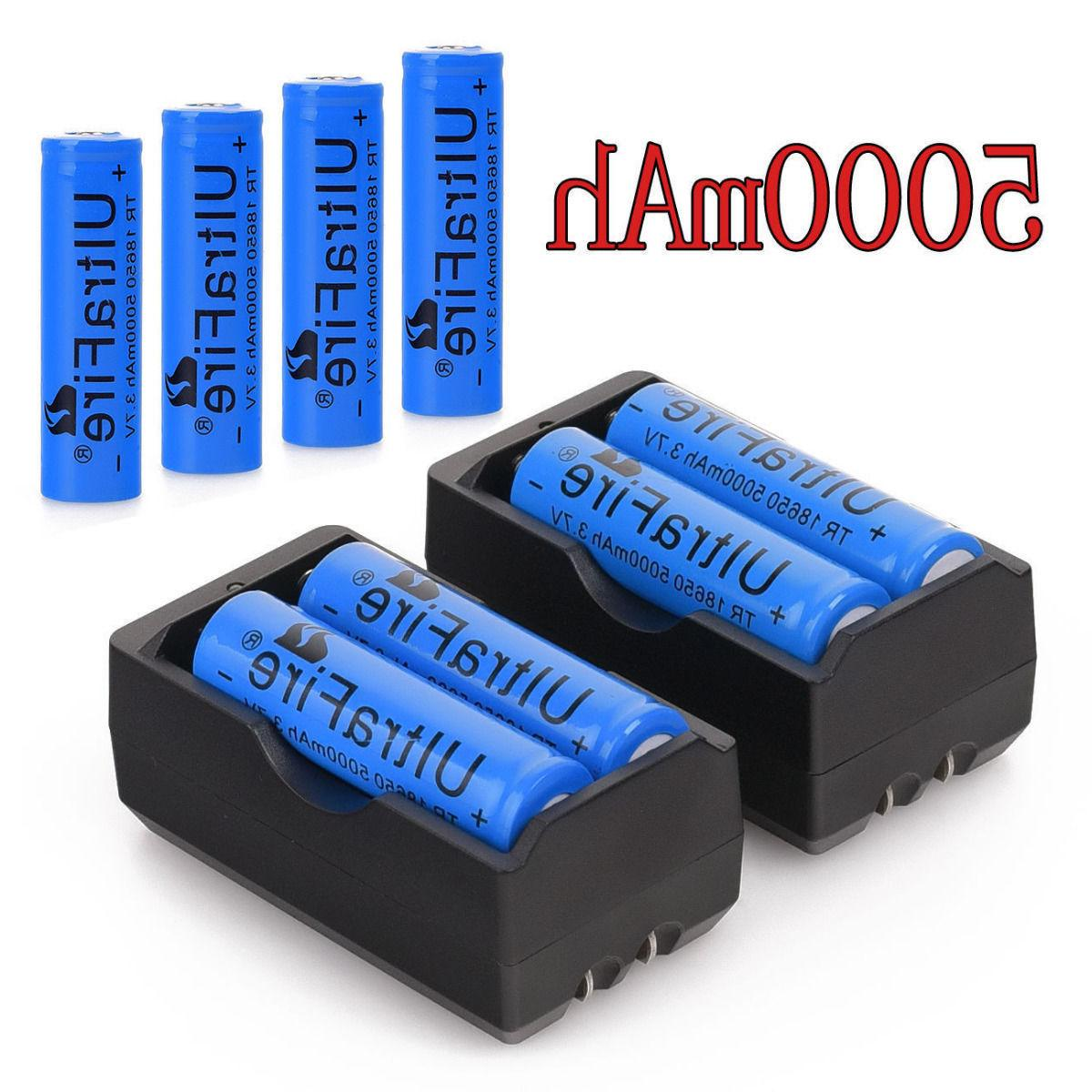 5000mah rechargeable 18650 battery 3 7v li
