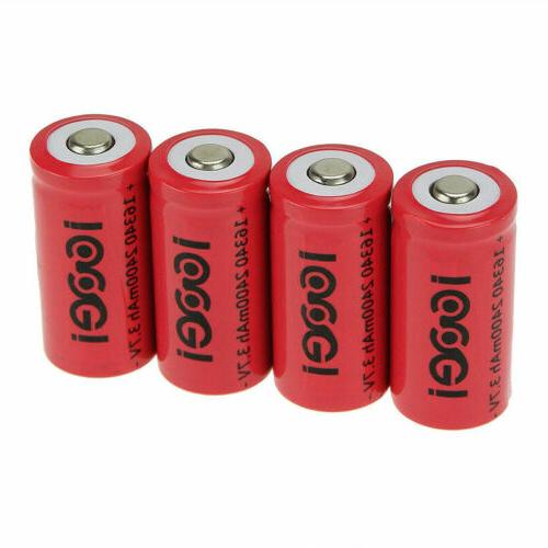 8/20x 3.7V Rechargeable Batteries