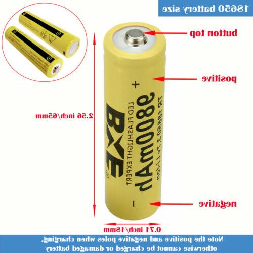 Rechargeable 3.7V Charger for Flashlight