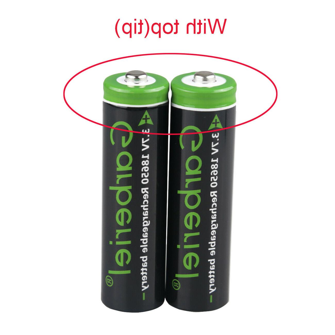 T6 18650 Rechargeable Batteries +Charger US