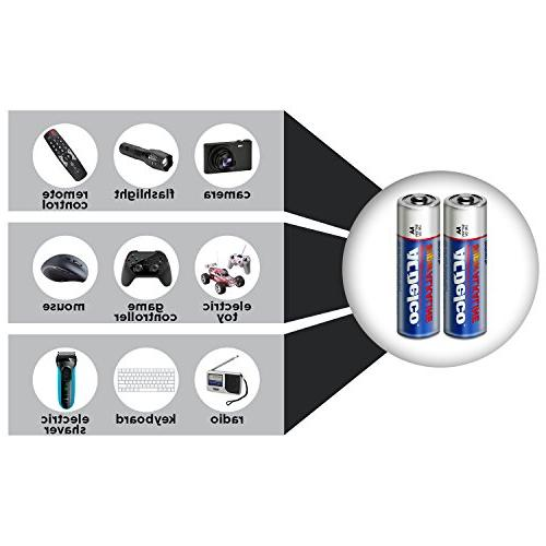 ACDelco Super Batteries Package, 40 Count