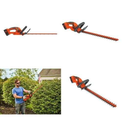 "BLACK+DECKER 40V Max 22"" Cordless Hedge Trimmer"