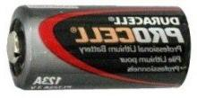 Duracell Procell 3-volt Lithium Battery - Model PL123A-12 pa