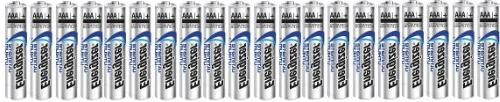 Energizer Ultimate Lithium AAA Size Batteries - 20 Pack - Bu