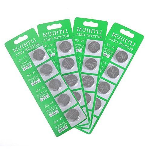 MineTom LED -1 Lot of 20 CR2032 3 Volt Lithium Button Cell C