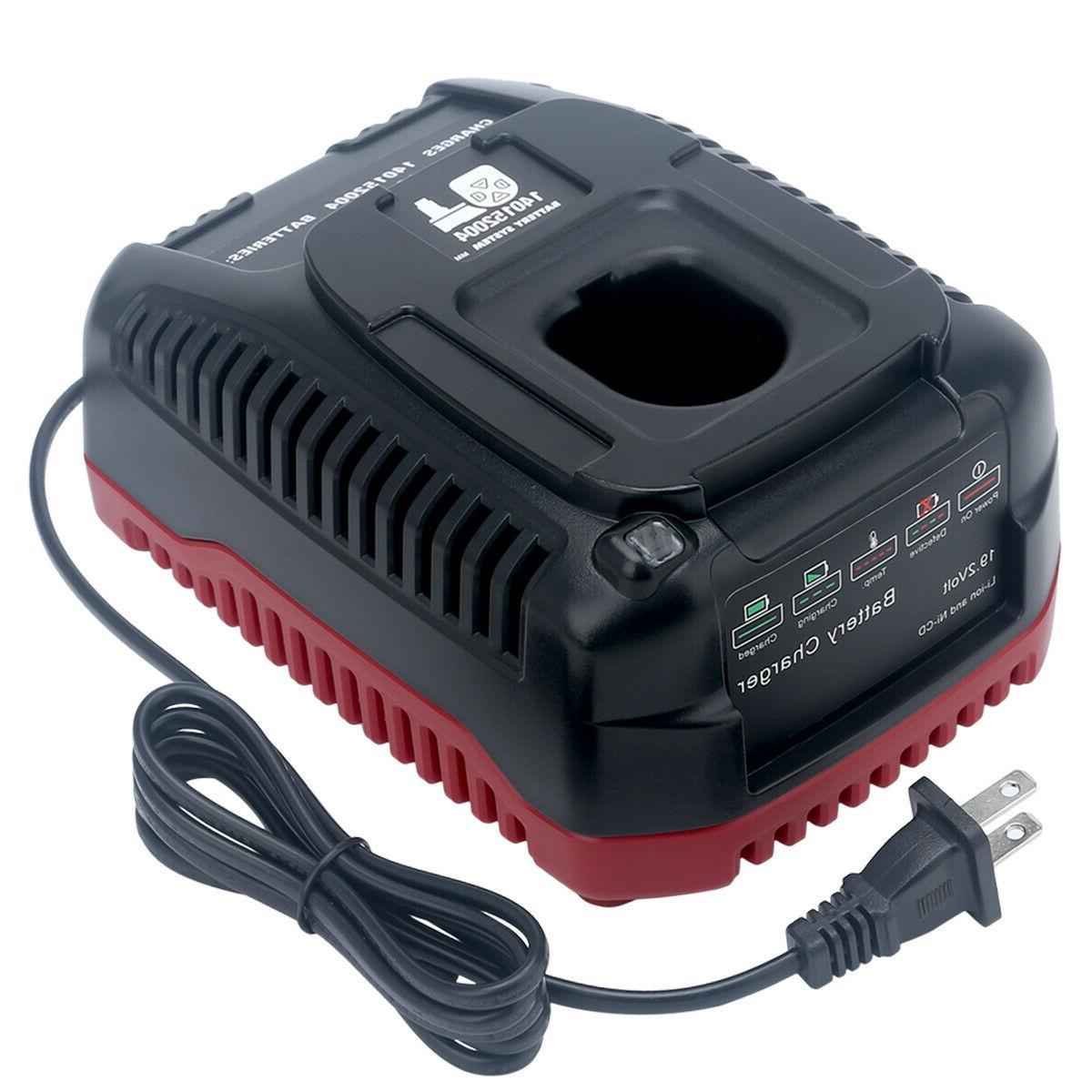 New Battery Charger for Craftsman C3 19.2V Ni-Cd & Lithium-I