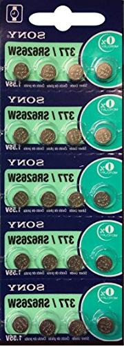 Sony 377 SR626SW Button Cell Battery pack of 20 Batteries