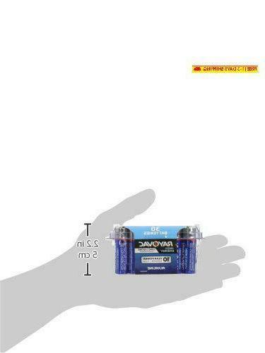 Rayovac Batteries, Double A